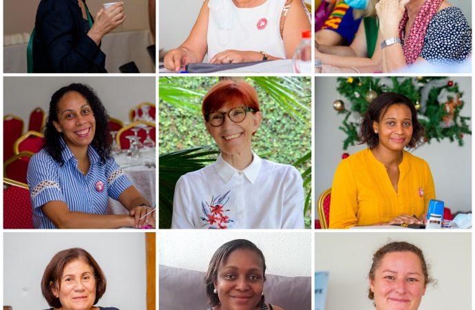 Les 9 femmes du CA de Françaisdu monde, section Côte d'Ivoire – LFCI N°24 du 11/03/2021