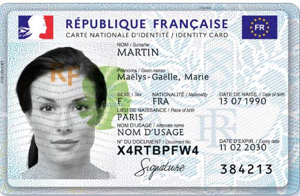 La nouvelle carte nationale d'identité – LFCI N°26 du 8 avril 2021