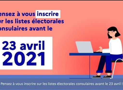 Une date limite d'inscription : 23 avril 2021 ! – LFCI N°27 du 22 avril 2021