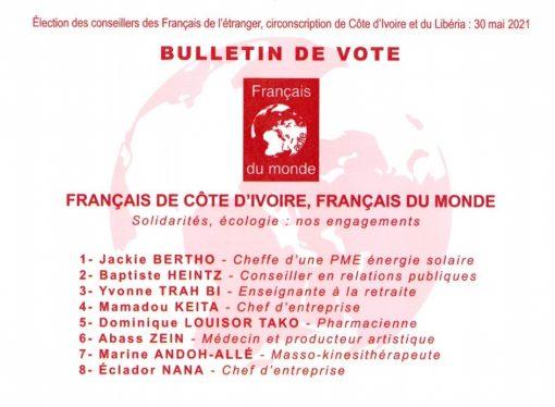 Vote à l'urne le dimanche 30 mai de 8h à 18h au Consulat général de France – LFCI N°30 du 25 mai 2021
